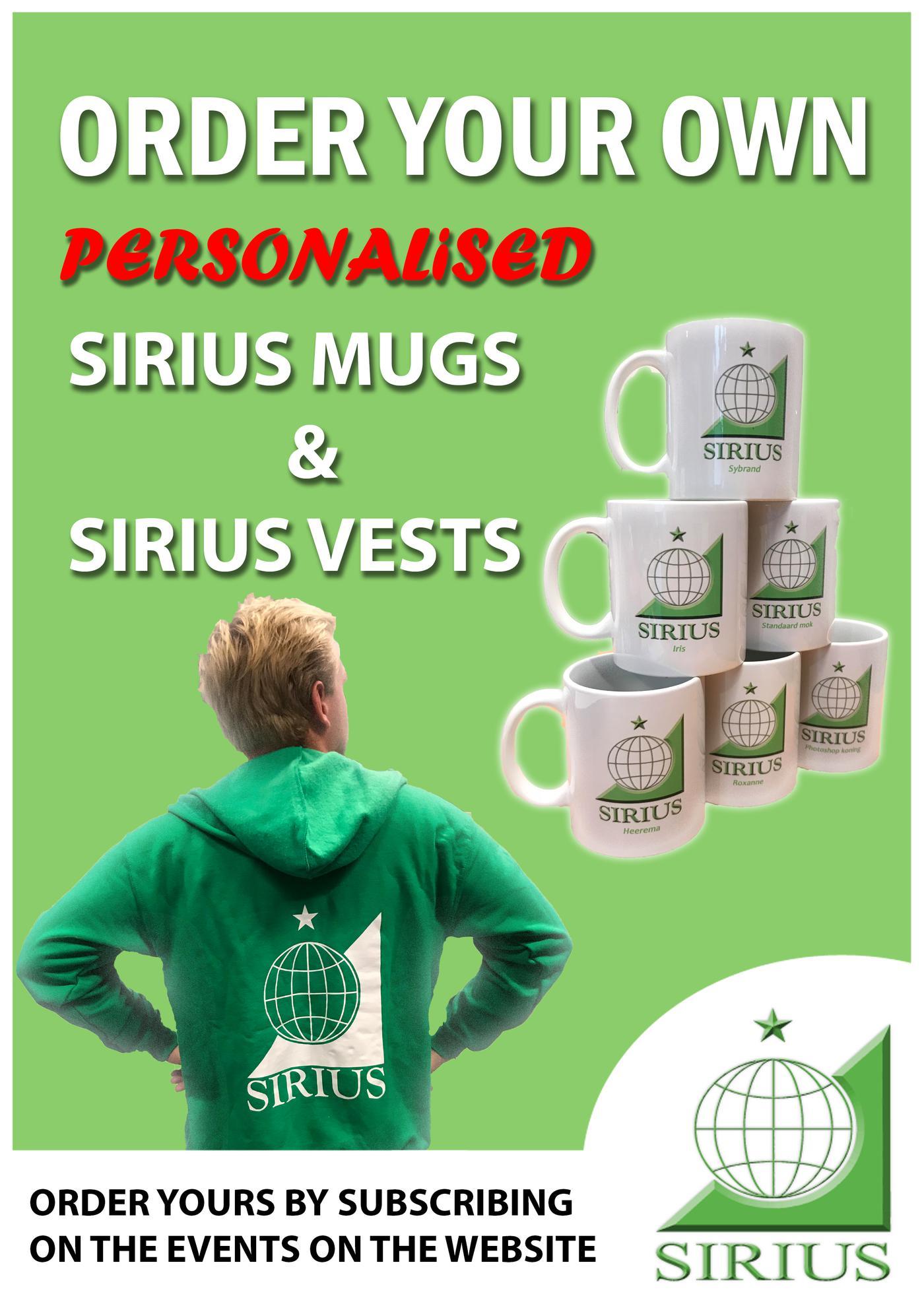 Sirius vests