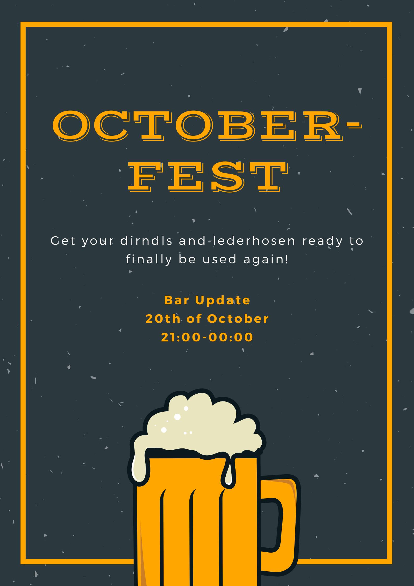 Update Drink: Octoberfest