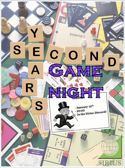 Second Years Activity: Game Night