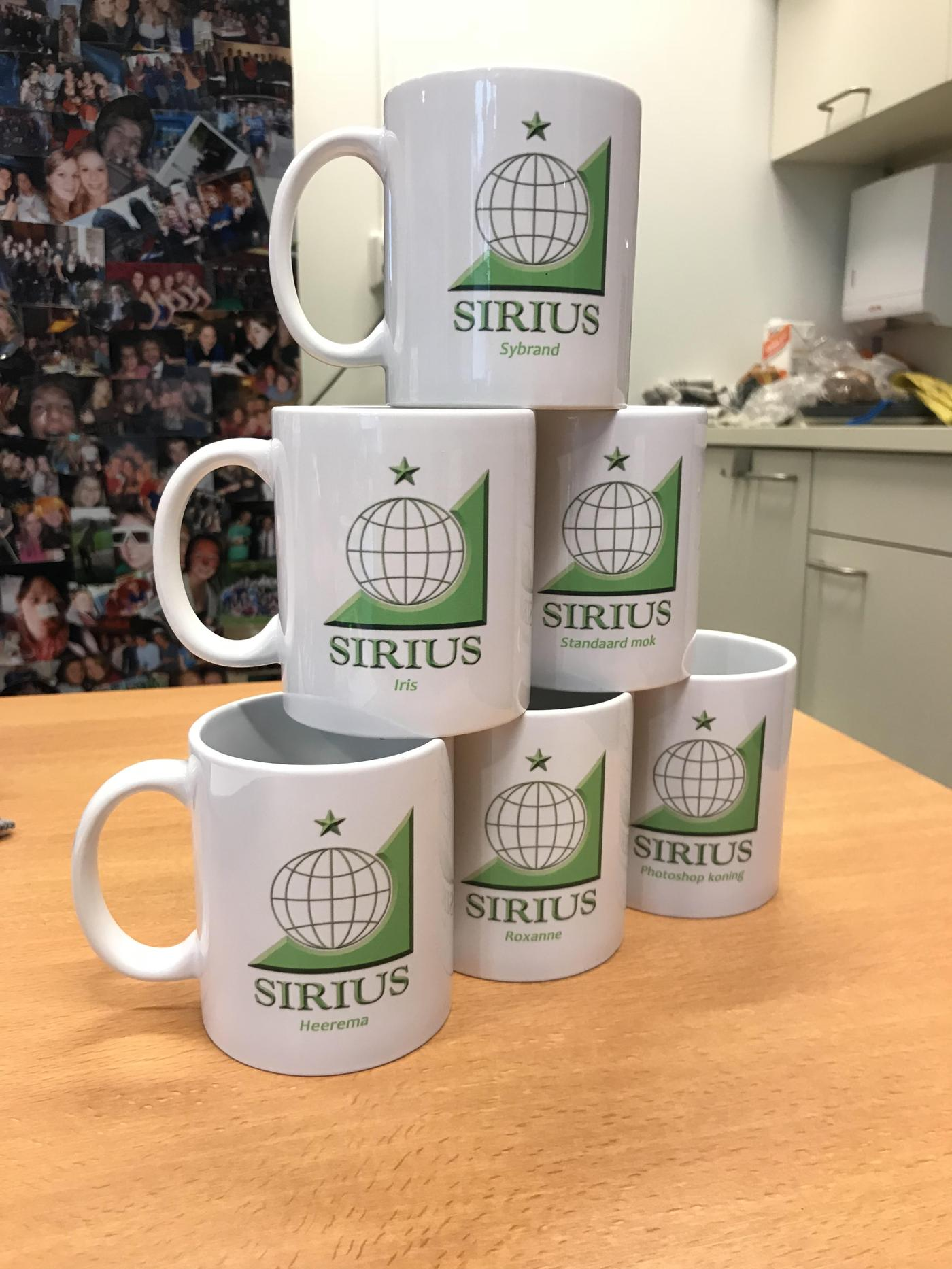 Personalised Sirius Mugs