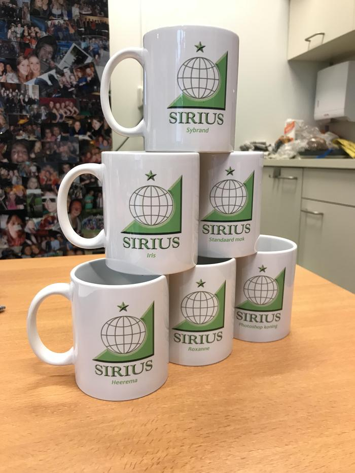 Personalised Sirius Mugs