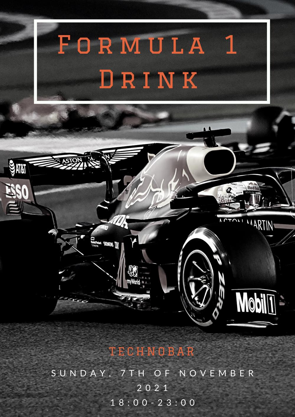 Formula 1 Drink