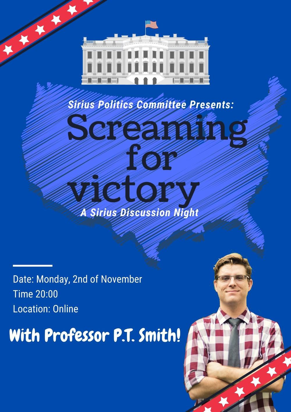 Screaming for victory: a Sirius discussion night